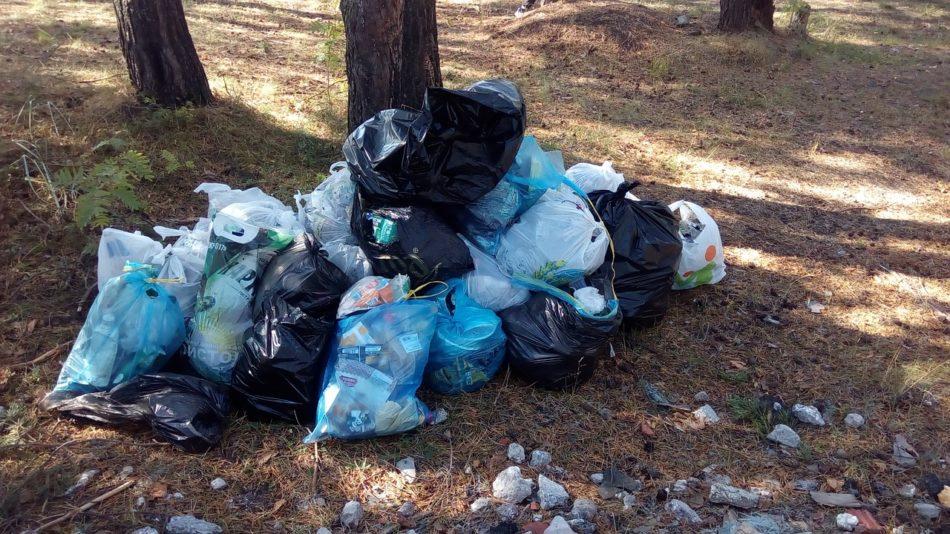 Worki ze śmieciami